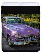 Vintage Desoto Duvet Cover