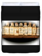 Vintage Dye Bottles Duvet Cover
