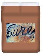 Vintage Eureka Duvet Cover