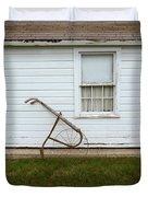 Vintage Farm Tool By Farmhouse Duvet Cover