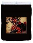Vintage Floral Beauty  Duvet Cover
