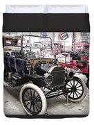 Vintage Ford Vehicle Duvet Cover by Douglas Barnard