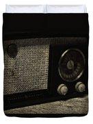 Vintage Ge Radio Duvet Cover