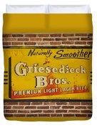 Vintage Griesedieck Bros Beer Dsc07192 Duvet Cover