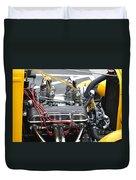 Vintage Hotrod Engine Duvet Cover