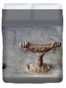 Vintage Iron Work Duvet Cover