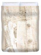 Vintage Lace Unbuttoned Duvet Cover
