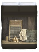 Vintage Laundry Room II By Edward M Fielding Duvet Cover