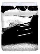 Vintage Lotus At Speed Duvet Cover
