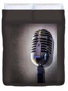 Vintage Microphone 2 Duvet Cover