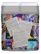Vintage Music Sheets No.2 Duvet Cover