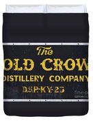 Vintage Old Crow - D008693 Duvet Cover