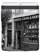 Vintage Paris 13b Duvet Cover