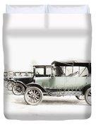 Vintage Parking Duvet Cover