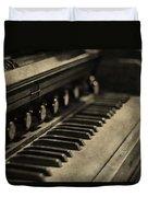 Vintage Piano Duvet Cover