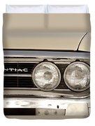 Vintage Pontiac Firebird 1967 Close Up Duvet Cover