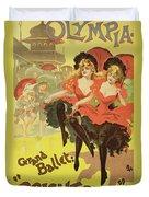Vintage Poster   Brighton Duvet Cover