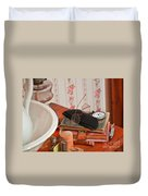 Vintage Reading Glasses Still Life Art Prints Duvet Cover