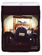 Vintage Ride  Duvet Cover