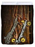 Vintage Roller Skates 5 Duvet Cover