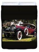 Vintage Rolls Royce Phantom Duvet Cover