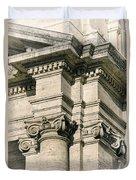 Vintage Rome Duvet Cover