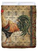 Vintage Rooster-d Duvet Cover