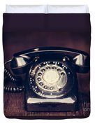 Vintage Rotary Phone Duvet Cover