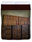 Vintage Storage Duvet Cover
