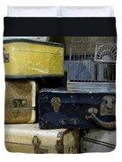 Vintage Suitcase Duvet Cover