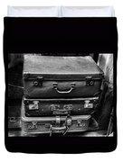 Vintage Suitcases Duvet Cover