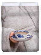 Vintage Teacup Duvet Cover