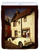 Vintage Touch. Culross Sketches. Scotland Duvet Cover