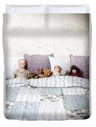 Vintage Toys Duvet Cover by Joana Kruse