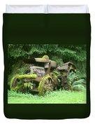 Vintage Tractor Duvet Cover