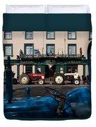 Vintage Tractors Lined Duvet Cover