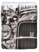 Vintage V8 Duvet Cover
