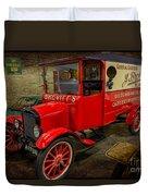 Vintage Van Duvet Cover by Adrian Evans