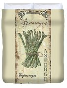 Vintage Vegetables 1 Duvet Cover
