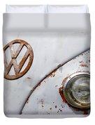 Vintage Vw Badge Duvet Cover