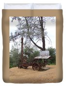 Vintage Well Driller 2 Duvet Cover