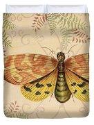 Vintage Wings-paris-c Duvet Cover