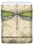 Vintage Wings-paris-g Duvet Cover