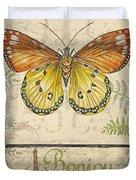 Vintage Wings-paris-l Duvet Cover