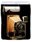 Vintaged Canadian Kodak Camera Duvet Cover