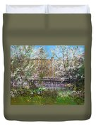 Viola's Apple And Cherry Trees Duvet Cover