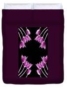 Violet Bells Duvet Cover