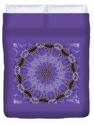 Violet Garden Duvet Cover