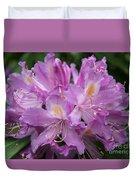 Violet Pleasure Duvet Cover