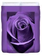 Violet Rose Duvet Cover by Adam Romanowicz